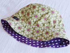 Sombrero reversible, patrón gratis
