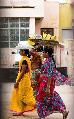 Ladies in Raipur, India
