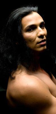 Native American man