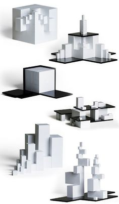 Naef Tectus Modern Architecture Construction Toy