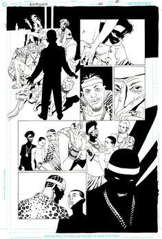 100 BULLETS ISSUE 60 PAGE 15 ART BY EDUARDO RISSO   100 BALAS  Comic Art