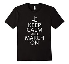 Marching Band Music Keep Calm March On T-shirt - Male Small - Black Homewise Shopper http://www.amazon.com/dp/B016B2ZZ3M/ref=cm_sw_r_pi_dp_nI2jwb06S5NM6