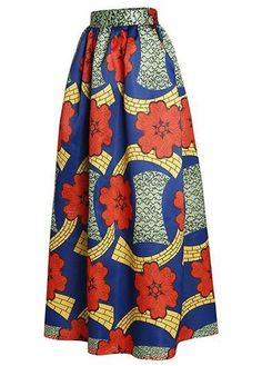 Printed High Waist Vintage Maxi Skirt on sale only US$34.64 now, buy cheap Printed High Waist Vintage Maxi Skirt at liligal.com