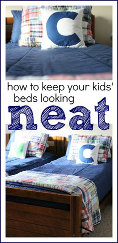 So awesome!  Keep those beds looking neat and tidy with Beddys!