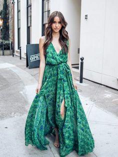 Φόρεμα μακρύ πράσινο