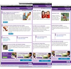 Alzheimer's Weekly E-news. Stay Up-to-date on the Latest News and Advances in Alzheimer's Treatments and Research - Alzheimer's Association National Headquarters