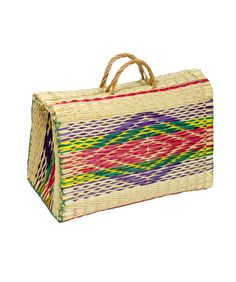 Traditional Portuguese Reed Straw Bag