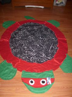 Turtle rag quilt for my 4 yr old. | Things I've made!! | Pinterest ... : turtle rag quilt - Adamdwight.com