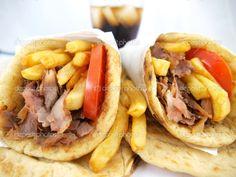 Greek Food | Greek food gyros | Stock Photo © George Tsartsianidis #4043200