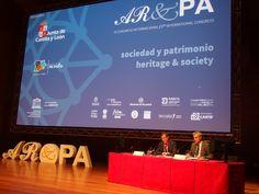 Presentación del Congreso Internacional AR&PA por parte del Director General de Patrimonio Cultural