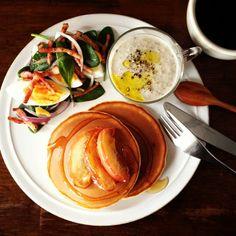 .@keiyamazaki | Today's breakfast. Mushroom soup. 早くおきたんだけど、色々やってたら遅くなっ... | Webstagram