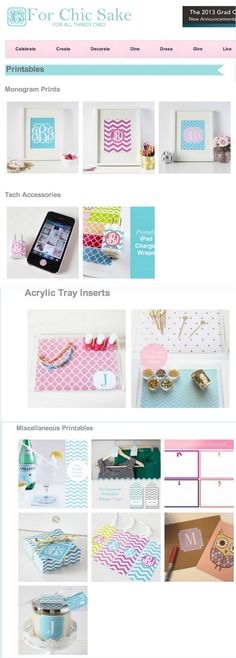 How to Print Monogram Printables on Fabric (DIY Framed Pin Cushions)..