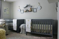 Nursery - light gray with graphite furniture