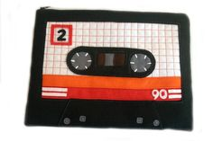 Mix Tape Ipad Case by BraveMoonman
