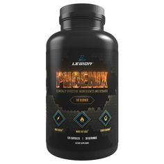 Legion Phoenix Free Fat Burner Supplement - All Natural Thermogenic Weight Loss Pills, Metabolism Booster & Appetite Suppressant. Safe & Healthy. 30 Servings., Brown