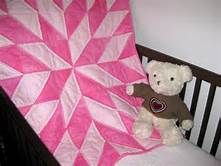 Baby Pink Lady Bugs is a unique handmade baby quilt - just perfect ... : unique quilts for sale - Adamdwight.com