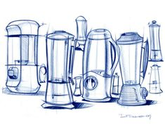 Sketches by Michael DiTullo at Coroflot.com #id #industrial #design #product #sketch