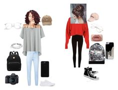 """""""Photography vs Birthday"""" by jlguterah on Polyvore featuring River Island, TIBI, Converse, Mi-Pac, Dondup, Eos, Amici Accessories, Vans and West Coast Jewelry"""