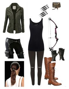 """""""My outfit if I was in maze runner"""" by lopezfamily-1 ❤ liked on Polyvore featuring River Island, Juvia, J.TOMSON and BKE"""