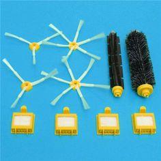 Cepillos y filtros Piezas de vacío para reemplazo de accesorios de aspiradoras de la serie iRobot Roomba 700