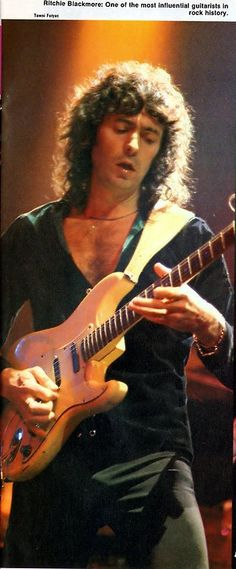Ritchie Blackmore & his Strat!