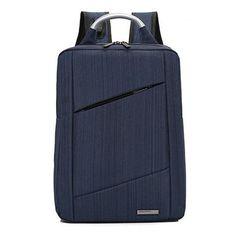 5172dee64e7e USB smart charging business Laptop backpack men Waterproof Notebook back pack  school bag for teenagers bagpack