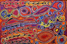 Mina Mina Dreaming - By Judy Napangardi Watson Aboriginal Painting, Aboriginal Culture, Sand Painting, Ipad Art, Painted Leaves, Australian Art, Indigenous Art, Rug Hooking, Wood Carving