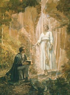 "Joseph Smith http://facebook.com/217921178254609 received the gold plates from Moroni on Sept. 22, 1827. ""I obtained them,"" the Prophet testified, ""and the Urim and Thummim with them, by the means of which I translated the plates; and thus came the Book of Mormon."" http://mormon.org/book-of-mormon #sharegoodness"