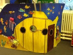 Image result for Directions cardboard submarine