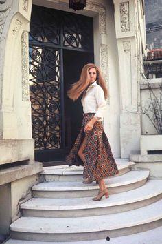 Dalida C 1971 - Rue D'Orchampt (dans sa maison)