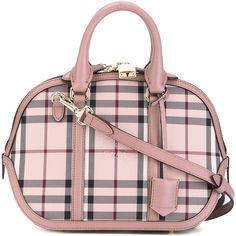 Burberry Mini Orchard hadbag ($1,437) ❤ liked on Polyvore featuring bags, handbags, shoulder bags, shoulder handbags, mini shoulder bag, man bag, man leather shoulder bag and pink leather handbags
