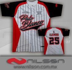 jersey camisola beisbol botones nilson sublimacion fullcolor ropa deportiva