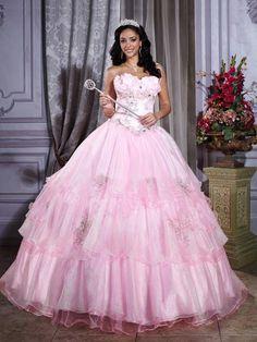 Beautiful Sweetheart Floor Length Ball Gown Quinceanera Dress