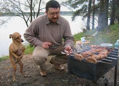 Perro de barbacoa