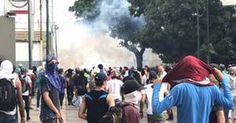 ¡ÚLTIMA HORA! Altamira: Murió joven por impacto de bomba lacrimógena en la cara #26A