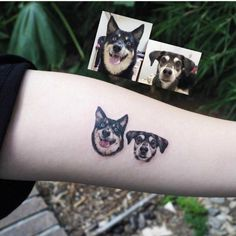 These Cool Tattoos Are So Effing Artistic Tribal Tattoos, Asian Tattoos, Body Art Tattoos, Cool Tattoos, Tattoos Skull, Tatoos, Small Dog Tattoos, Memorial Tattoos Small, Tattoos For Dog Lovers