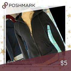 🦋💕🐝Old Navy zippered hoodie💕🦋🐝 Faded black Old Navy hoodie 💕🦋🐝 Old Navy Tops Sweatshirts & Hoodies