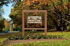 Thompson Park is a 675 acre park.  It is home to several basketball courts, baseball fields, a dog park, picnic groves, hiking trails, an animal haven and much more.