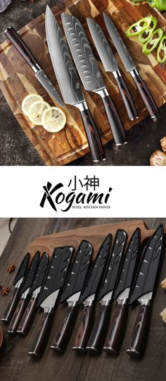 The Kogami Steel Premium Chef Knife Collection puts all others to shame! 🔪 ▪️ Expertly crafted ▪️ Razor-sharp ▪️ Ergonomic wooden non-slip handle ▪️ Available in 3, 5, 8 pc sets 🎁 Enjoy 40% off for a limited time Survival Tools, Chef Knife, Knife Sets, Kitchen Pantry, Kitchen Knives, Summer Sale, Handle, Steel, Ocean City