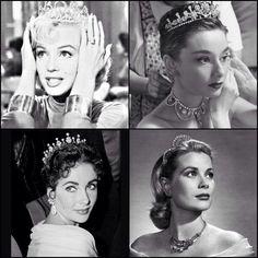 Hollywood Queens: Taylor, Monroe, Hepburn, Kelly
