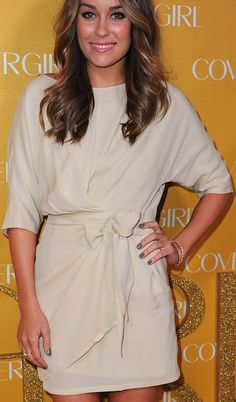 I love this dress.  Its simple but I think it's perfect for work events.  Lauren Conrad always has great style
