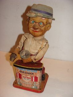 Vintage CHARLEY WEAVER BARTENDER by maggiecastillo on Etsy, $50.00