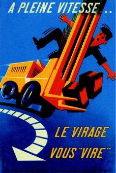 Pierrette Vuillamy – «A pleine vitesse», 1965.
