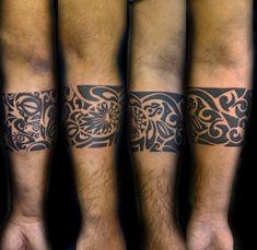 Brazaletes maoríes, su historia y evolución - https://www.tatuantes.com/brazaletes-maories-historia-evolucion/ #tattoo