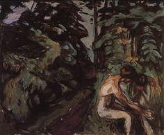 Comfort - (Edvard Munch)