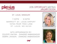 Don't miss this opportunity!!! Come hear two of the most inspiring ladies share what Plexus did for them!!