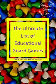 Check out this Awesome list home board games! #LearningIsFun #Homeschool #Homeschooling #Games #BoardGames #FamilyFun #FamilyGameNight
