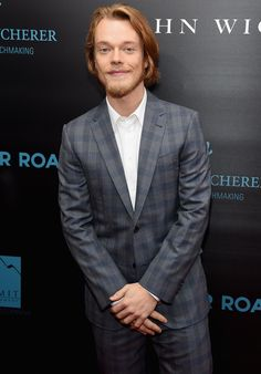 c23a8f566f1 Alfie Allen - Suit Without Tie - Business Casual  Can You Wear Suit Without  Tie
