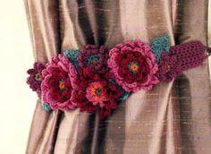 Pair of Curtain Tie Backs