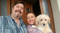 Nos vamos de paseo a disfrutar del Domingo!!! #anabelycarlos #somostres #unanuevaetapa #mascotas #lapequeñalisy